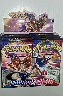 Pokemon TCG Sword and Shield Base Set Booster Pack