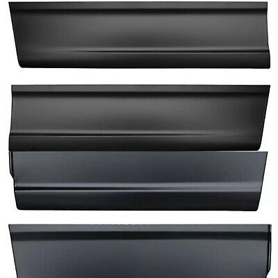 Front Rear Outer Lower Door Skin fits 01-03 Ford F150 F250 Super Crew Cab PAIR