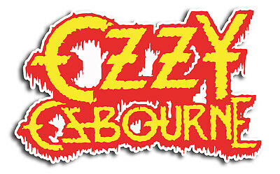 STICKER//DECAL BRAND NEW VINTAGE OZZY OSBOURNE SKULL MUSIC BAND 059