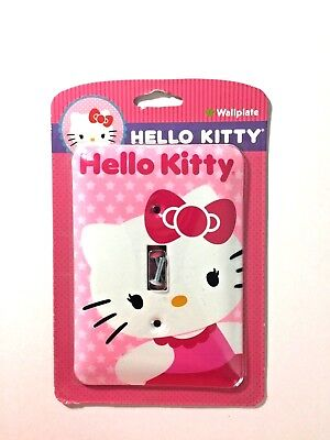 HELLO KITTY Switchplate Single Toggle Metal Light Switch Wallplate Cover