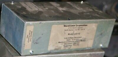 Duracomm LVD-12 Low Voltage Disconnect, 75 Amps 10-15V DC