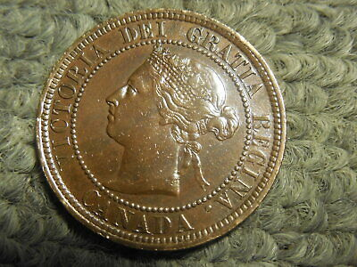 1887 Canadian Large Cent in VF condition.  But you decide!!!!!!!!!!!!!!!!