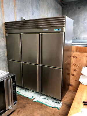 Commercial upright freezer