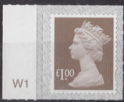 0217) Great Britain - Machins 2019 MNH  SG u2934 £1.00 M19L Cyi. W1 Tab