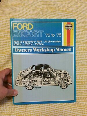 Haynes Ford Escorts 75 To 78 Owners Workshop Manual