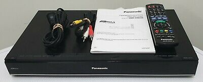 Panasonic PVR HDD Recorder DMR-HW220 with 1TB HDD Manual & Cables FAST SHIPPING