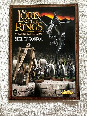 BOOK - Lord Of The Rings Siege Of Gondor Strategy Battle Game Paperback 2004