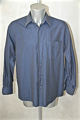 Luxurious Shirt Blue Oil Kenzo Man Size 41-16 Mint