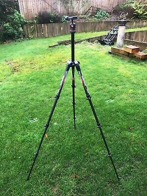 Manfrotto BeFree Carbon Travel Tripod. Manfrotto & ARCA clamps and plates