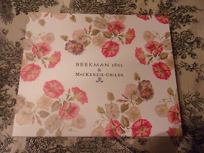 Beekman 1802 & Mackenzie Childs Morning Glory Bounty Box Brand New