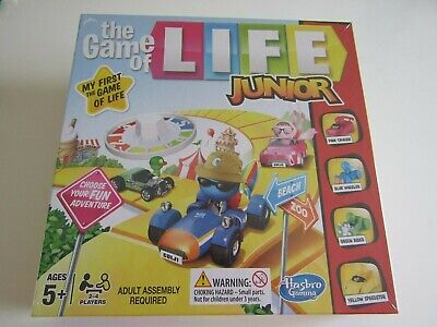 Hasbro Junior The Game of Life - Brand New Factory Sealed