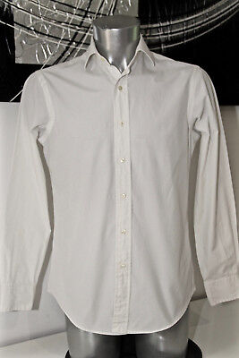 Pretty White Shirt Ralph Lauren Custom Fit Dress Shirt Size 15 38 (S)