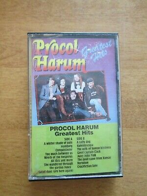 Cassette Tape    Procol Harum - Greatest Hits    Buy It Now $1.00