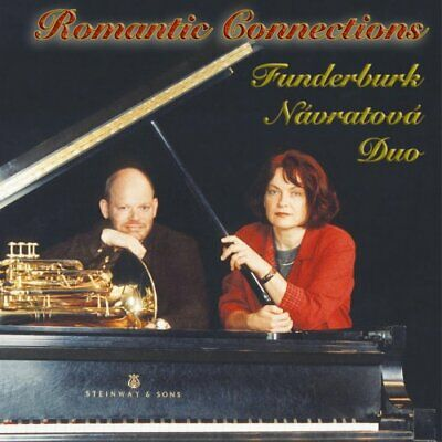 JEFFREY FUNDERBURK - Romantic Connections - CD - **BRAND NEW/STILL SEALED**