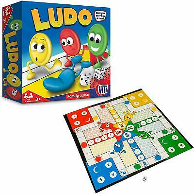 Brand New HTI Toys Traditional Games Ludo Family Board Game Set (bx3)