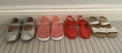 Girls Infant Size 5 Summer Shoe Bundle