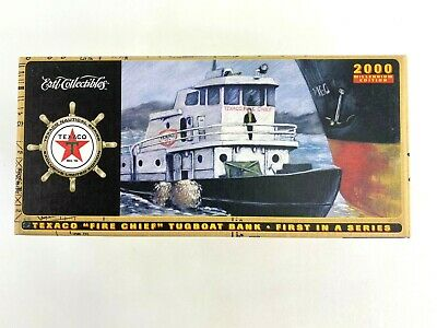 Limited Edition Texaco Fire Chief Tug Boat Die Cast Nautical Series Collection