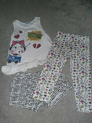 mayoral girls 3 piece outfit age 7 years.  girls designer clothing