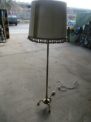 Messing Stehlampe,antik,Shabby Chic