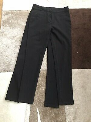 girls black school trousers age 11 X 2 Pairs NEXT