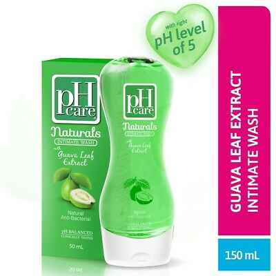 PH CARE NATURALS INTIMATE WASH WITH GUAVA EXTRACT 150ml