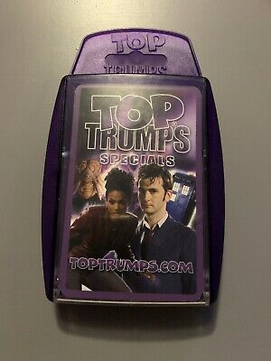 Top Trumps Specials DOCTOR WHO Card Game BBC Dr Who Fan TV Film Childrens Kids