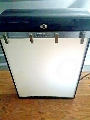 GE General Electric AY Type 1 X-Ray Circline Illuminator Light Box Viewer 120V