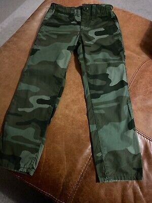 GAP Boys Camouflage Chino Casual Trousers, Age 5 Years,  Excellent Condition