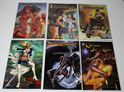 11x17 Zenescope DAWN MCTEIGUE ART PRINT Grimm Fairy Tales Wonderland #21 NM