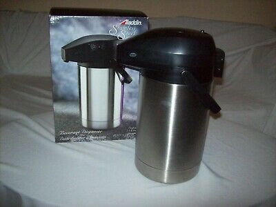 The Aladdin Stainless Steel Collection Beverage Dispenser 2.5 Liters