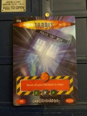 Doctor Who Battles In Time Tardis Card