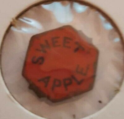 Antique ~ Sweet Apple ~  Tobacco Tag