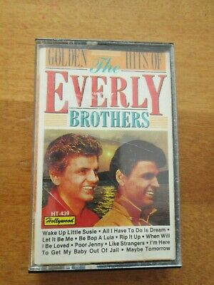 Cassette Tape   The Everly Brothers - Golden Hits   Buy It Now $1.00