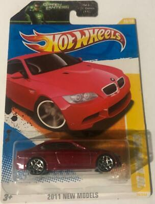 2011 Hot Wheels /'10 BMW M3 #26 Premiere RED A23