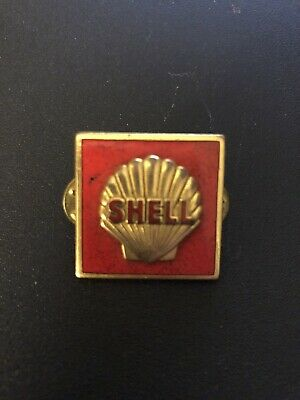 Vintage Shell Motor Oil Hat PIN Advertising