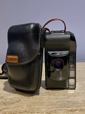 Canon Sure Shot Supreme 35mm Film Point & Shoot Camera 38mm f2.8 Lens