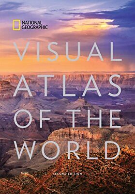 NATIONAL GEOGRAPHIC VISUAL ATLAS OF WORLD, 2ND EDITION: - Hardcover **Mint**
