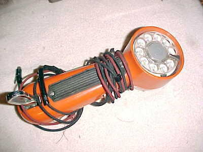 WESTERN ELECTRIC  -  BELL STSTEM  TEST PHONE   -   Vintage ORANGE