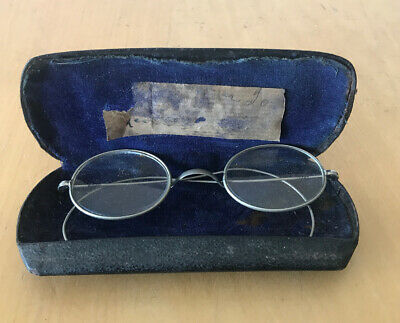 Vintage Spectacles 1930s Retailed From Canberra  In There Original Case