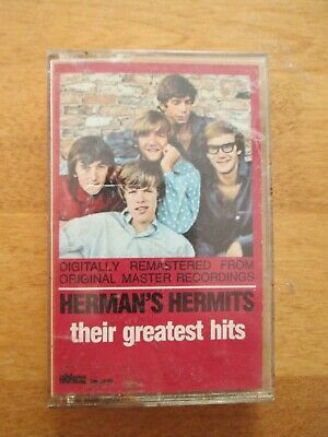 Cassette Tape  Herman's Hermits - Their Greatest Hits  Buy It Now $3.00