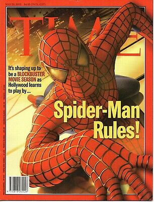 Time Magazine - Spider Man Rules! cover issue 2002
