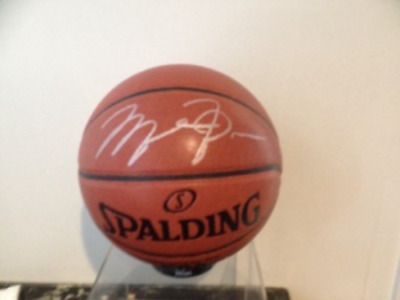 Michael Jordan Chicago Pallone Nba Autografato Ball Signed MICHAEL JORDAN 23