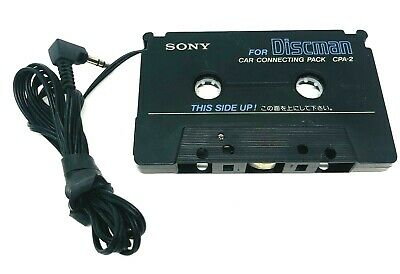 Sony CPA-2 Car Cassette Tape Adapter Discman Car Connecting Pack