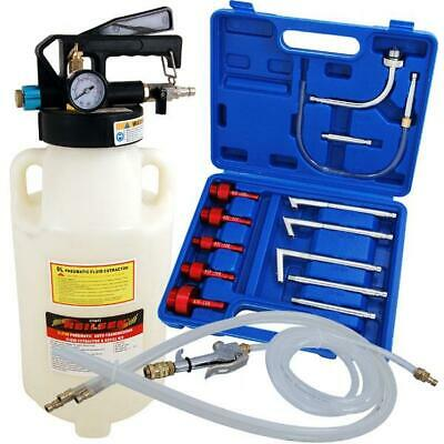 8ltr Pneumatic Air ATF Auto Transmission Fluid Extractor/Dispencer & Adapter Kit