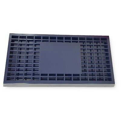 Blue Bar Plastic Drip Tray With Plastic Insert for Bars Pubs Restaurants