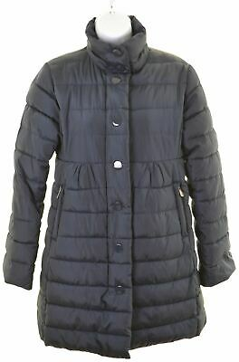 BEST COMPANY Girls Padded Coat 13-14 Years Blue Polyester  HY23