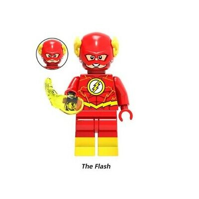 G3 - Flash Marvel - Custom Moc Minifigures Compatibile LEGO - Nuovo in Blister