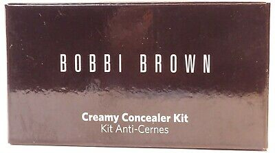 Bobbi Brown ~ Creamy Concealer Kit ~ Warm Beige / Pale Yellow ~ Boxed