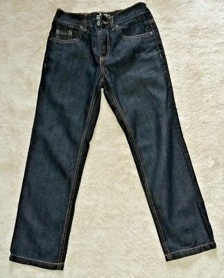 Boy's Straight Navy Blue Jeans for age 9 yrs with Adjustable Waist