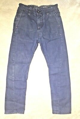 Kids Blue Twisted Jeans By NEXT for age 7 Years